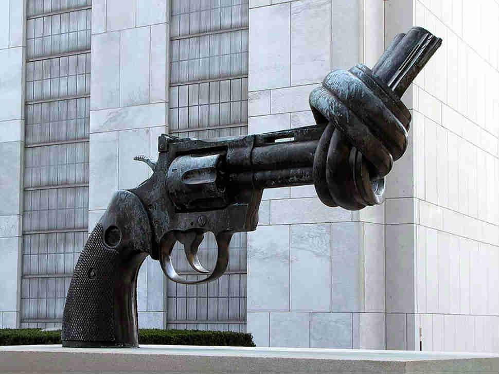 Amerika Silah Heykeli