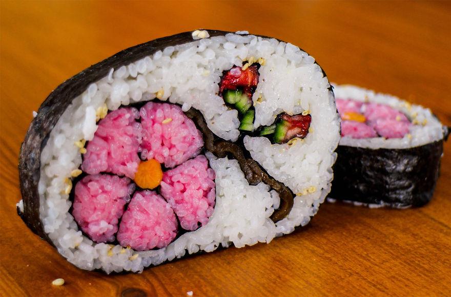 çiçek sushi