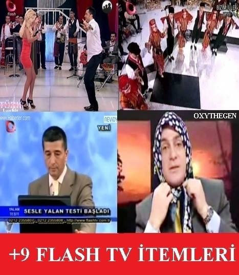 Flash-TV-İtemleri