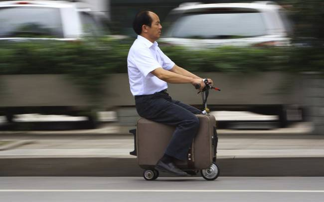 Bavul Şeklinde Motorsiklet