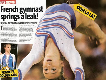 Jimnastikçi Kadın