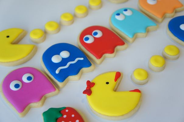 Pac Man kurabiye