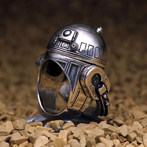 R2 D2 yüzük