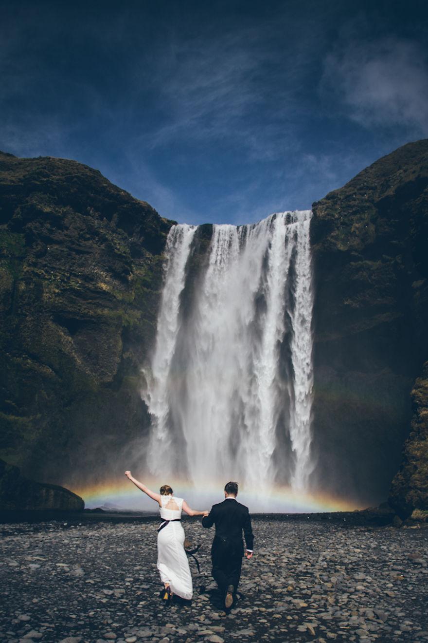 Skógafoss Şelalesi, izlanda