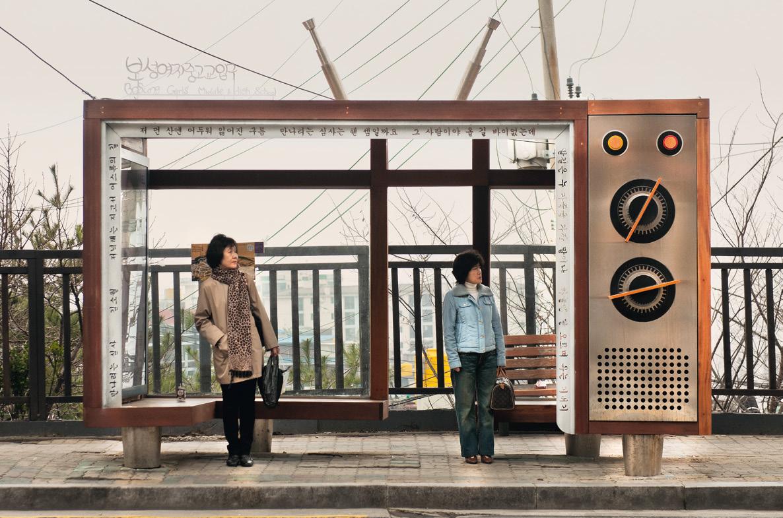 Güney Kore, Otobüs Durağı
