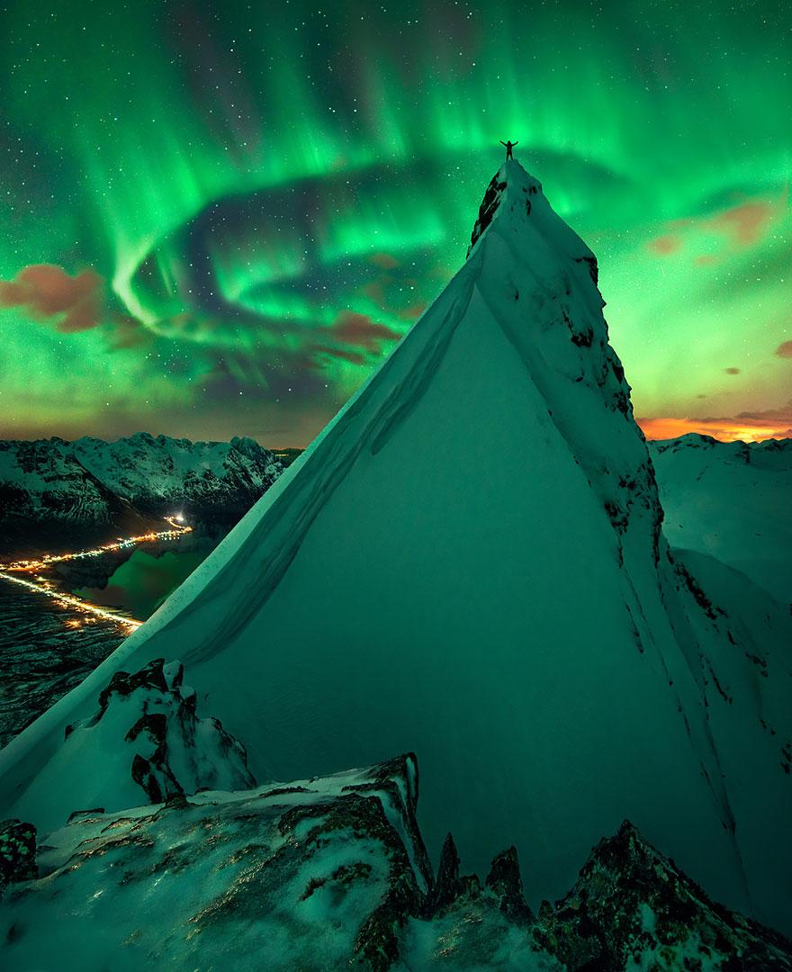 Kuzey Işıkları, Svolvaer