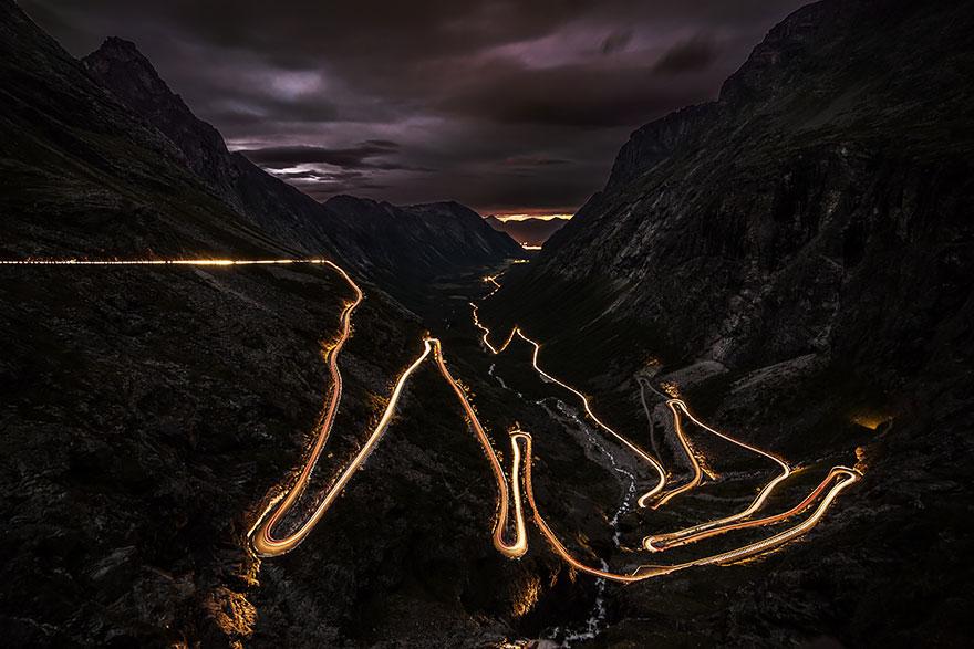 Trollstigen, Norveç