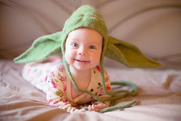 Yoda şapkası