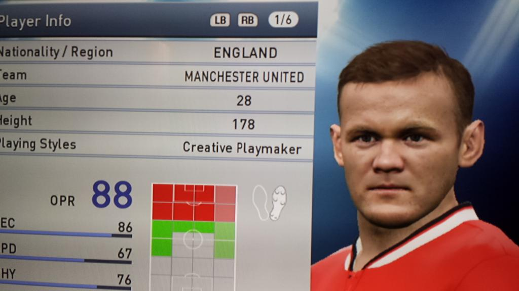 pes rooney