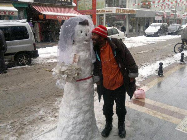 İlginç kardan adamlar14