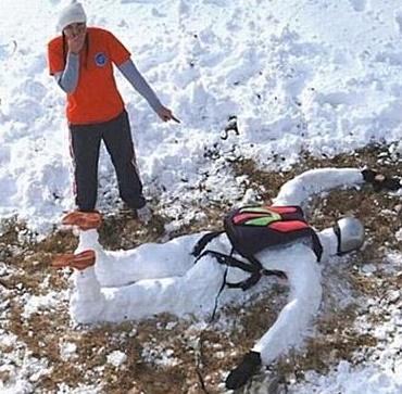 İlginç kardan adamlar9