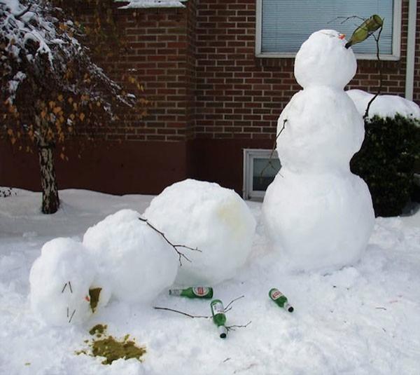 İlginç - komik kardan adamlar