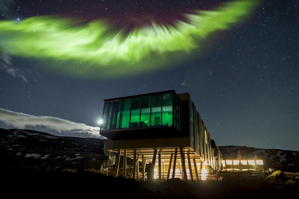 İzlanda, Kuzey Işıkları Barı