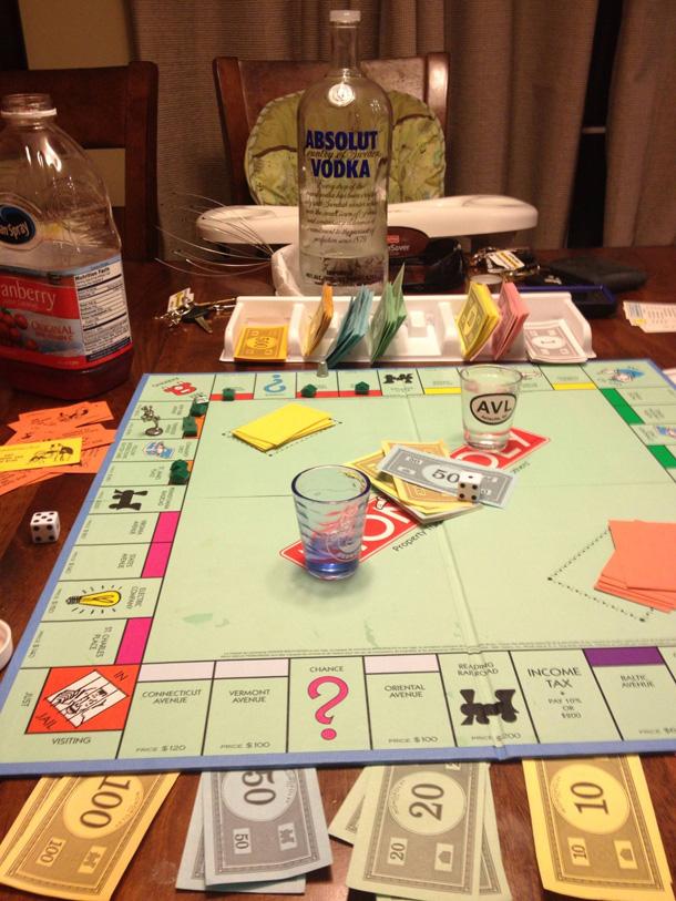 Monopoly-Alkol Oynu