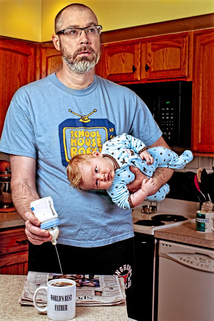 alice bee baba kız fotoğrafları