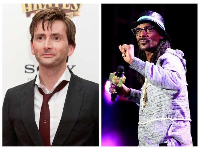 David Tennant and Snoop Dogg