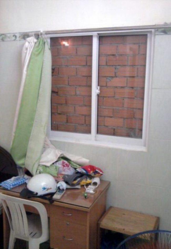 duvara açılan pencere