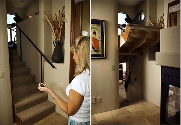 merdiven gizli oda