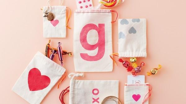 sevgililer günü kendin yap - çanta