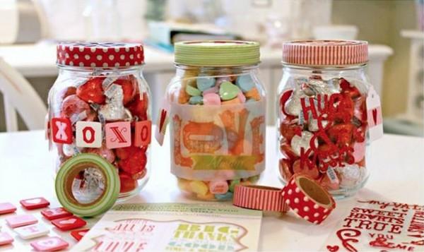 sevgililer günü kendin yap - şekerleme kutuları