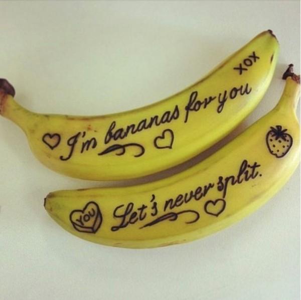 sevgililer günü kendin yap - meyve