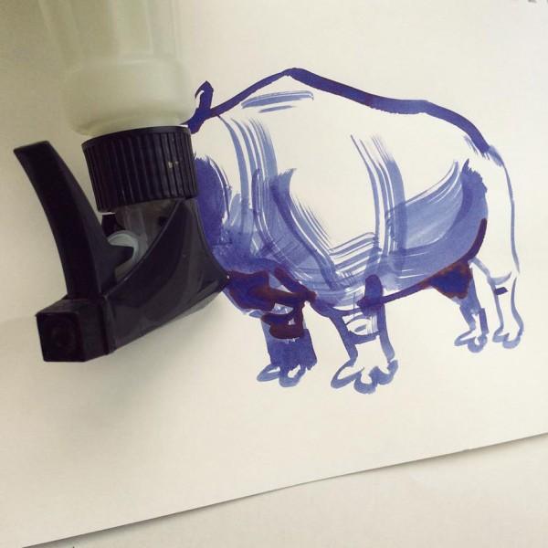 Christoph Niemann basit  yaratıcı çizimler 17