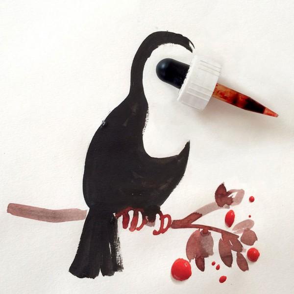 Christoph Niemann basit  yaratıcı çizimler 6