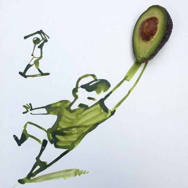 Christoph Niemann basit  yaratıcı çizimler 7