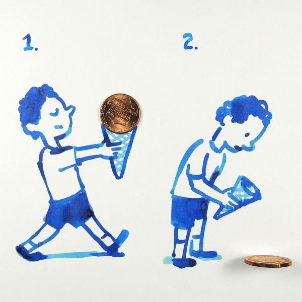 Christoph Niemann basit  yaratıcı çizimler  9
