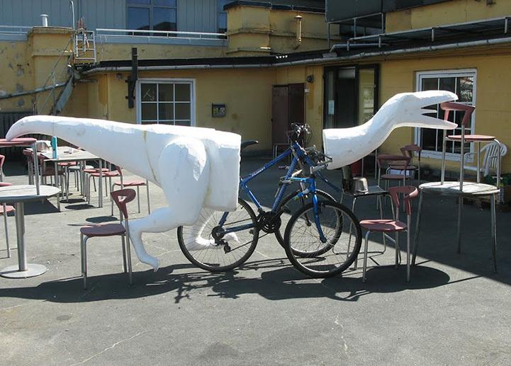 Dinazordan bisiklet yapmak 2