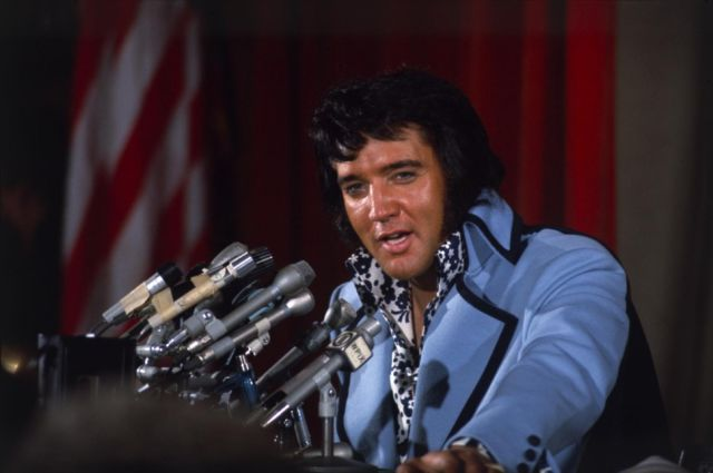 Elvis Presley, NYC 1972