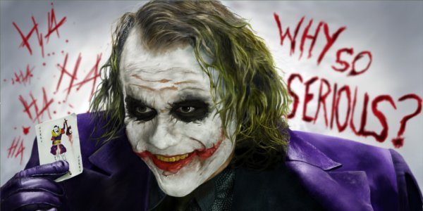 batman why so serious joker