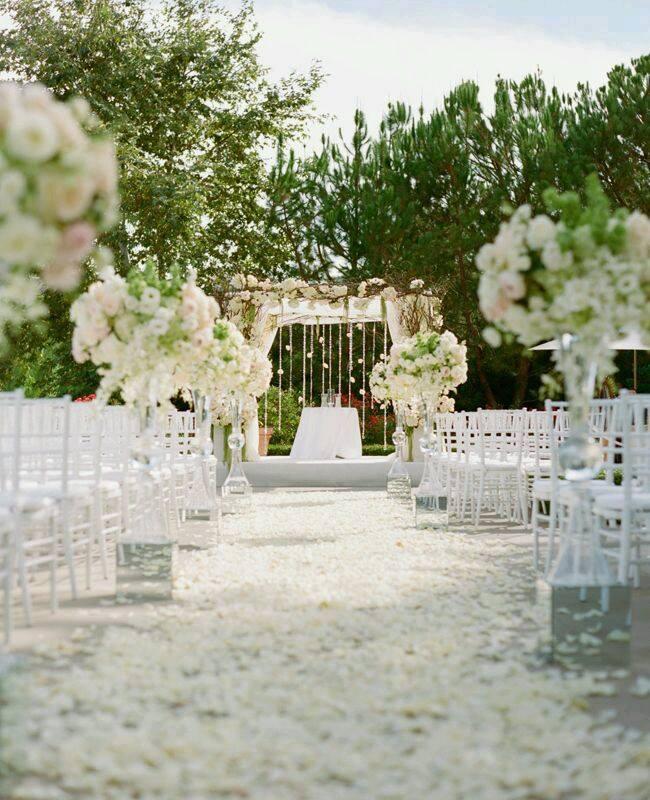 romantik düğün