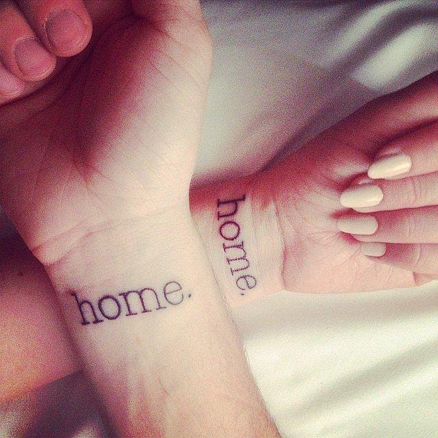 Çiftler için uyumlu dövme modelleri  6