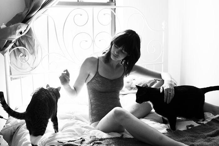 kızlar ve kedileri instagram