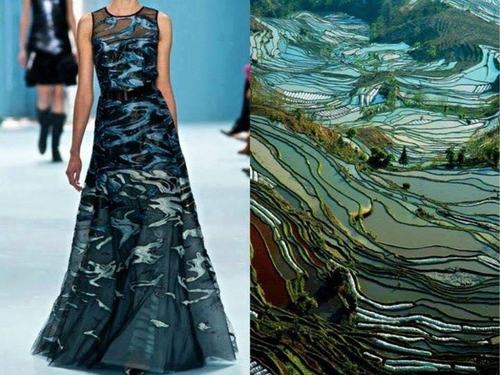 moda üzerinr doğanın etkkileri