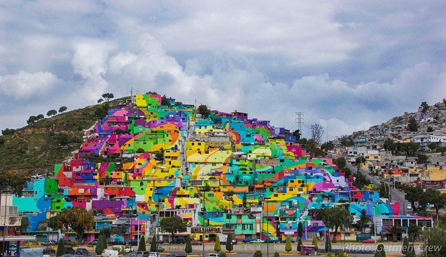 renkli şehirler