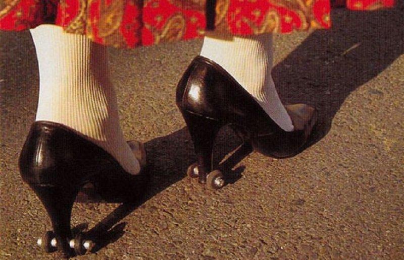 tekerlekli topuklar