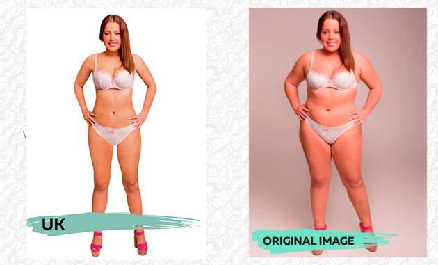 Ülkelere göre ideal vücut ölçüleri 18 ülke
