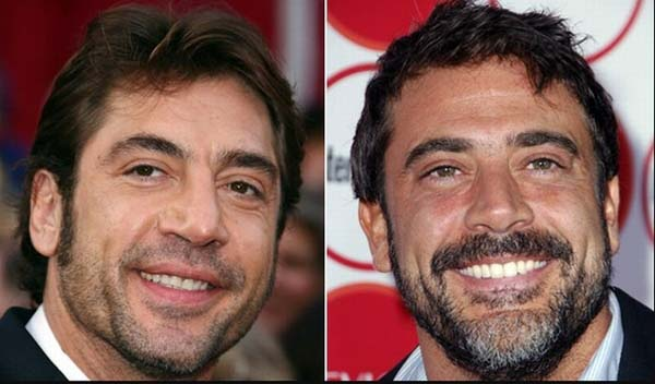 Javier Bardem & Jeffery Dean Morgan