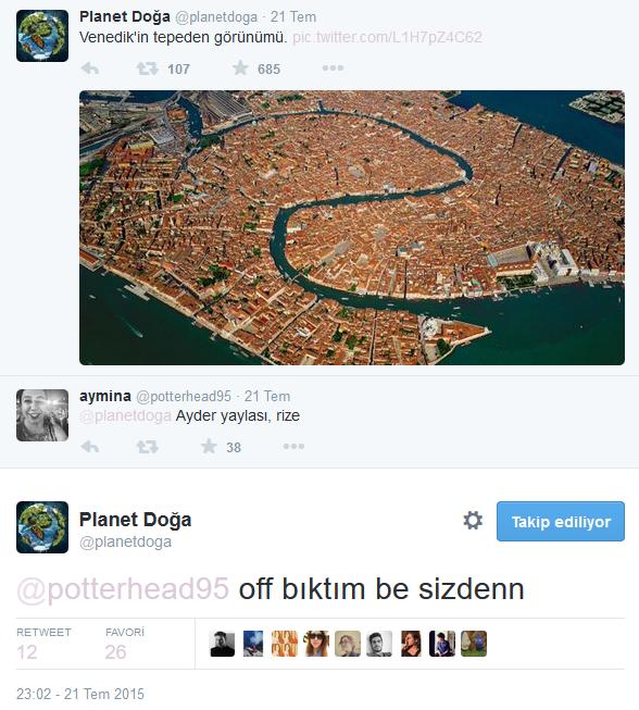 Twitter'daki Planet Doğa Hesabını Çıldırtan 20 Twitter Kullanıcısı 13
