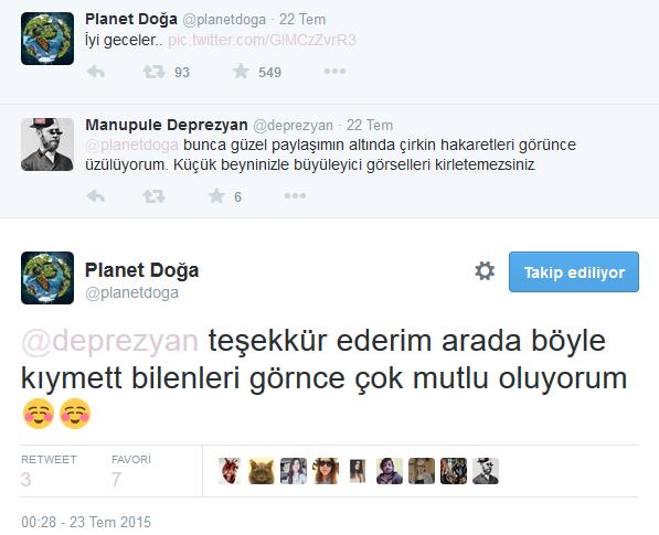 Twitter'daki Planet Doğa Hesabını Çıldırtan 20 Twitter Kullanıcısı 15