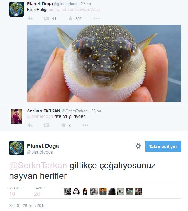 Twitter'daki Planet Doğa Hesabını Çıldırtan 20 Twitter Kullanıcısı 3