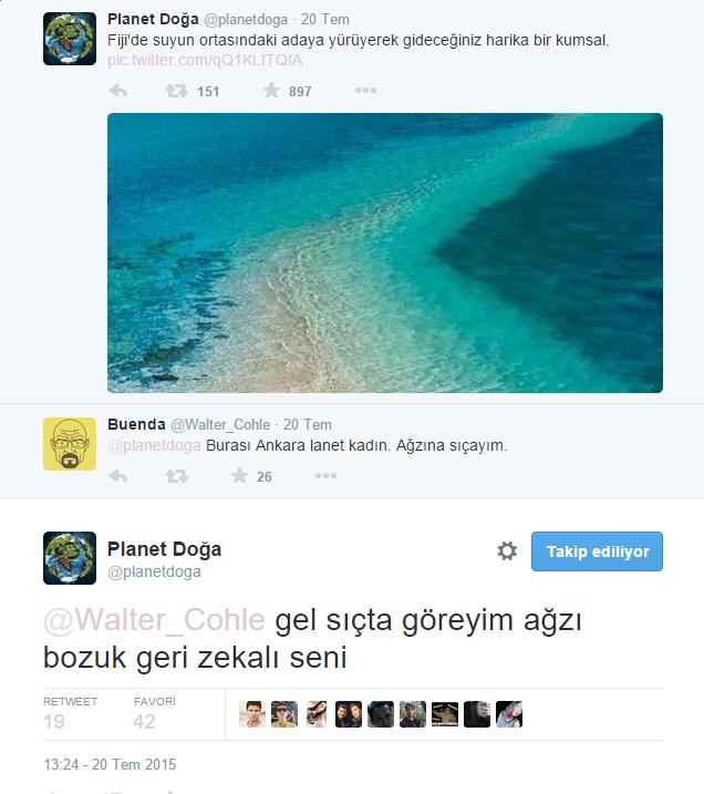 Twitter'daki Planet Doğa Hesabını Çıldırtan 20 Twitter Kullanıcısı 4