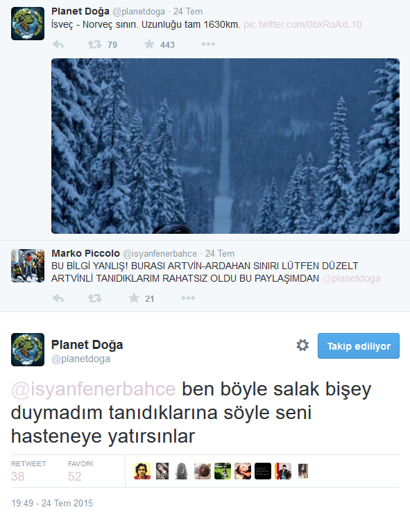 Twitter'daki Planet Doğa Hesabını Çıldırtan 20 Twitter Kullanıcısı 8