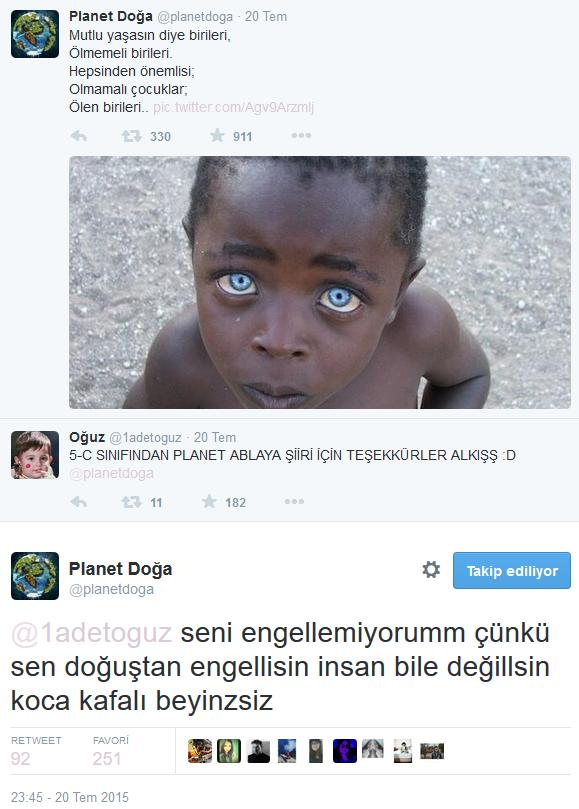 Twitter'daki Planet Doğa Hesabını Çıldırtan 20 Twitter Kullanıcısı
