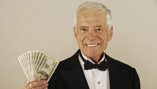 zengin yaşlı erkek