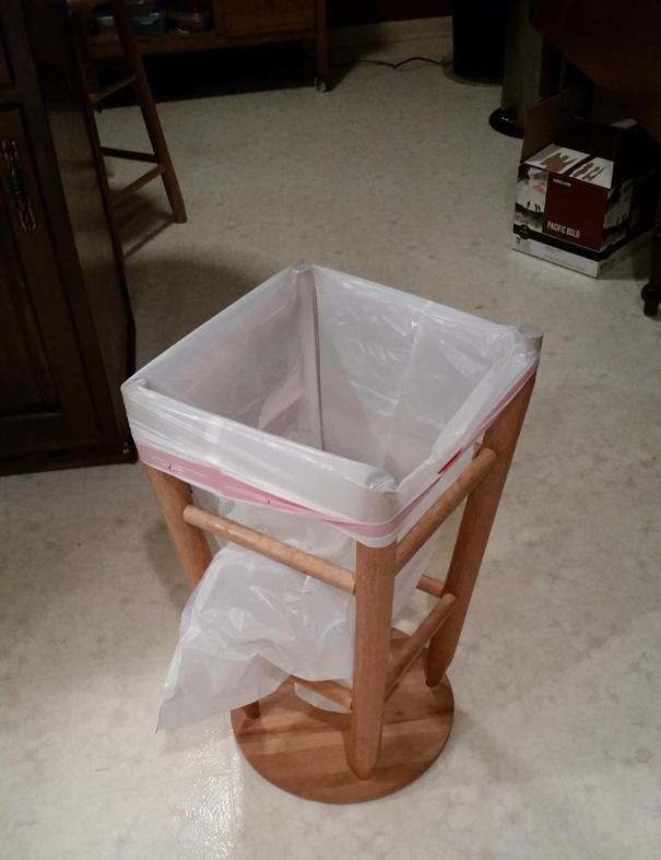 öğrenci proje çöp