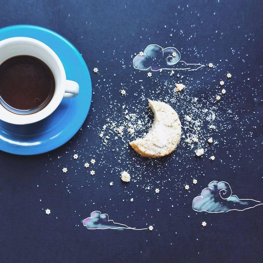 İllüstratör kahve içerse