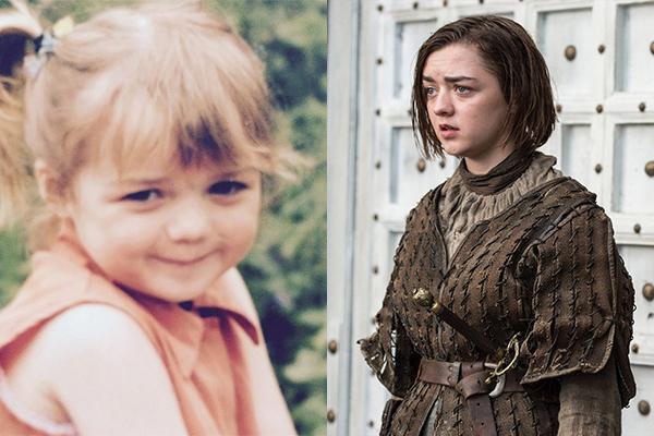 Game of Thrones oyuncularının çocukluk fotoğrafları 7